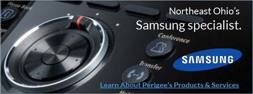 North East Ohio's Samsung Specialist. Learn About Perigee's Products & Services